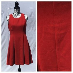 LOFT Ann Taylor Red Dress.